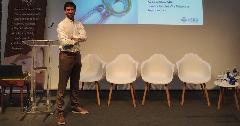 Dr. Enrique Olaya, director de VITA Medicina Reproductiva, ponente en la I Jornada de formación en Fertilidad y Reproducción Asistida